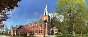 First Congregational Church in Stockbridge, built in 1824, as it looks today
