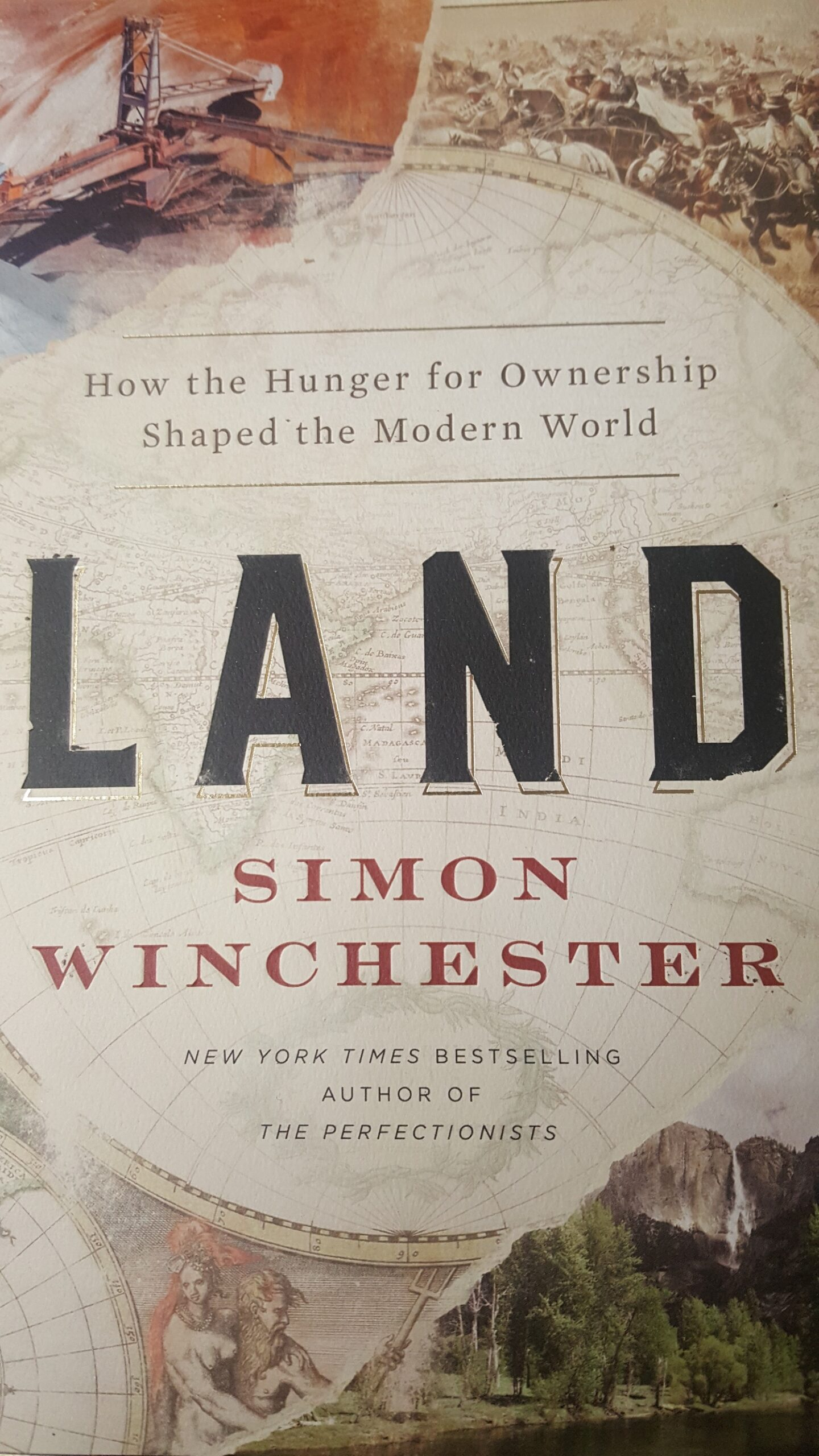 Cover image for the book Land by Simon Winchester